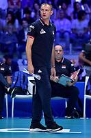 Serbia coach Nikola Grbic <br /> Torino 30-09-2018 Pala Alpitour <br /> FIVB Volleyball Men's World Championship <br /> Pallavolo Campionati del Mondo Uomini <br /> Finals / 3th place<br /> Serbia - USA  <br /> Foto Antonietta Baldassarre / Insidefoto