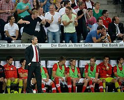 06.09.2013, Allianz Arena, Muenchen, GER, FIFA WM Qualifikation, Deutschland vs Oesterreich, Rueckspiel, im Bild Trainer Marcel Koller (AUT) Bank, , , Qualifikation Weltmeisterschaft Brasilien 2014 Rueckspiel , Saison 2013 2014 Muenchen Allianz-Arena, 06.09.2013 // during the FIFA World Cup Qualifier second leg Match between Germany and Austria at the Allianz Arena, Munich, Germany on 2013/09/06. EXPA Pictures © 2013, PhotoCredit: EXPA/ Eibner/ Michael Weber<br /> <br /> ***** ATTENTION - OUT OF GER *****
