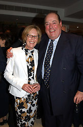 The HON.EMMA SOAMES and her brother the HON.NICHOLAS SOAMES at the Conservative party Pre-Conference Season party hosted by Lord Saatchi and Lord Strathclyde and held at M&C Saatchi, 36 Golden Square, London W1 on 7th September 2004.
