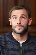Dundee captain Kevin Thomson talks to the press - Dundee presser<br /> <br />  - &copy; David Young - www.davidyoungphoto.co.uk - email: davidyoungphoto@gmail.com