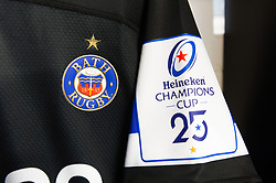 A general view in the Bath Rugby changing rooms prior to the match - Mandatory byline: Patrick Khachfe/JMP - 07966 386802 - 16/11/2019 - RUGBY UNION - The Recreation Ground - Bath, England - Bath Rugby v Ulster Rugby - Heineken Champions Cup