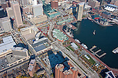 Aerial Photography of 414 Light St. at Baltimore Inner Harbor