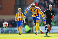 George Saville of Brentford during the Sky Bet League 1 match at the Matchroom Stadium, London<br /> Picture by Mark D Fuller/Focus Images Ltd +44 7774 216216<br /> 15/03/2014