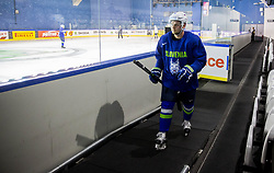 Anze Kuralt of Slovenia during practice session of Team Slovenia at the 2017 IIHF Men's World Championship, on May 11, 2017 in AccorHotels Arena in Paris, France. Photo by Vid Ponikvar / Sportida