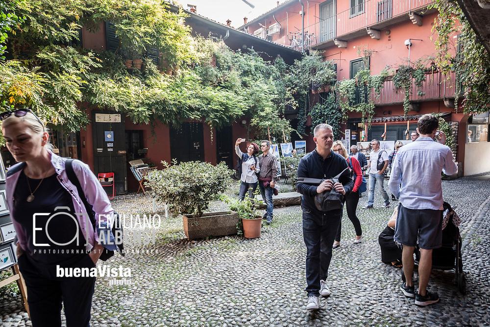 Emiliano Albensi<br /> 15/10/2017 Milano<br /> Nella foto: le case ringhiera di Milano<br /> <br /> Emiliano Albensi<br /> 15/10/2017 Milan<br /> In the picture: the railing houses in Milan
