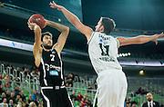 DESCRIZIONE : Lubiana Eurolega Euroleague 2015-16 UNION OLIMPIJA LJUBLJANA Vs DOLOMITI ENERGIA TRENTO<br /> GIOCATORE : Davide Pascolo<br /> CATEGORIA : tiro<br /> SQUADRA : Dolomiti Energia Trento<br /> EVENTO : Eurolega Euroleague 2015-2016<br /> GARA : UNION OLIMPIJA LJUBLJANA Vs DOLOMITI ENERGIA TRENTO<br /> DATA : 14/10/2015<br /> SPORT : Pallacanestro<br /> AUTORE : Agenzia Ciamillo-Castoria/V.Ponikvar<br /> Galleria : Eurolega Euroleague 2015-2016<br /> Fotonotizia : Lubiana Eurolega Euroleague 2015-16 UNION OLIMPIJA LJUBLJANA Vs DOLOMITI ENERGIA TRENTO