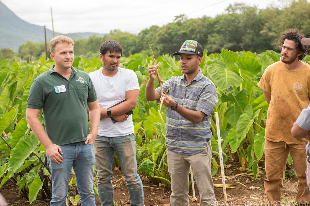 James Keach and Roshan Paudel, University of Hawaii, Manoa