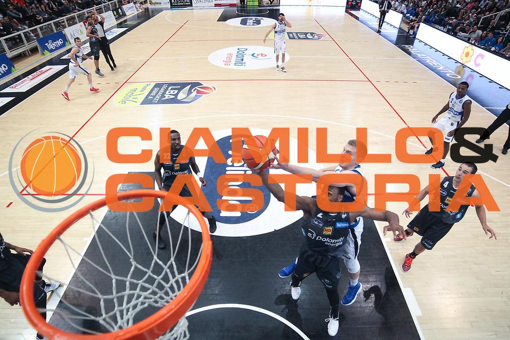 Berggren jared, Dominique Sutton<br /> Dolomiti Energia Aquila Basket Trento - Germani Basket Brescia Leonessa<br /> Lega Basket Serie A 2016/2017<br /> PalaTrento, 23/04/2017<br /> Foto Ciamillo-Castoria / M. Brondi