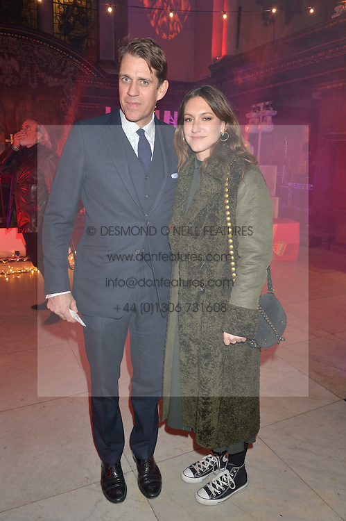 LONDON, ENGLAND 29 NOVEMBER 2016: Ben Elliot, Mary Clare Elliot at the Fayre of St James's hosted by Quintessentially Foundation and the Crown Estate in aid of Cheryl's Trust in support of The Prince's Trust held at St.James's Church, Piccadilly, London, England. 29 November 2016.