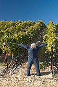 Scarecrow, Stillwater Creek Vineyard, Royal City, Washington, US
