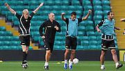 Glasgow, 28 Settembre 2011.UEFA Europa League 2011/2012  2^ giornata gruppo I..Udinese vs Celtic Glasgow. Celtic Park..Nella Foto: Allenamento di rifinitura dell'Udinese..© foto di Simone Ferraro