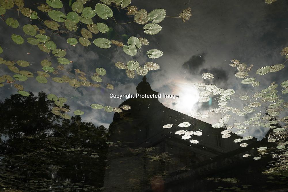 France Tanley castle in Yonne dpt , Burgundy