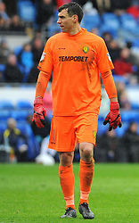 Stephen Bywater of Burton Albion looks on- Mandatory by-line: Nizaam Jones/JMP- 30/03/2018 -  FOOTBALL -  Cardiff City Stadium- Cardiff, Wales -  Cardiff City v Burton Albion - Sky Bet Championship