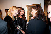 CHRISTINA BOOTHE; ELLA KRASNER, Book launch for ' art and Patronage: The Middle East' at Sotheby's. London. 22 November 2010. -DO NOT ARCHIVE-© Copyright Photograph by Dafydd Jones. 248 Clapham Rd. London SW9 0PZ. Tel 0207 820 0771. www.dafjones.com.