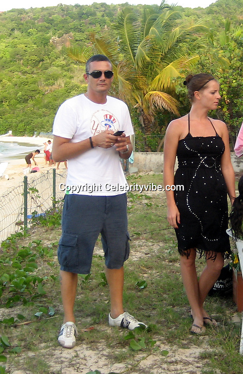**EXCLUSIVE**.Richard Virenque.Artist Jeffery Dread Art Exhibit and Bogosse Fashion Show.Private Villa.St Barth, Caribbean.Saturday, December, 29, 2007.Photo By Celebrityvibe.com.To license this image call (212) 410 5354 or;.Email: celebrityvibe@gmail.com; .Website: www.celebrityvibe.com.