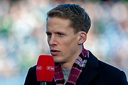 Hearts club captain Christophe Berra before the Betfred League Cup semi-final match between Heart of Midlothian FC and Celtic FC at the BT Murrayfield Stadium, Edinburgh, Scotland on 28 October 2018.