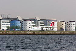 London City Airport with the University of East London student accommodation in the background