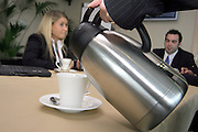 A meeting, the enjoyable alternative to work.<br />