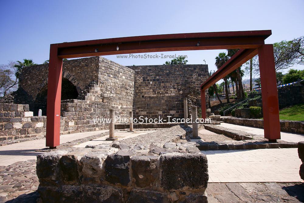 Israel, Tiberias, Roman Ruins