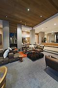 Living room of California home