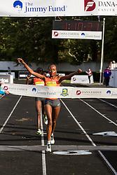 Mary Wacera, Kenya, Nike, wins 1:10:21