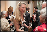 CHRISTINE DE LAUBAREDO, Nicky Haslam hosts a party to launch a book by  Maureen Footer 'George Stacey and the Creation of American Chic' . With a foreword by Mario Buatta. Kensington. London. 11 June 2014