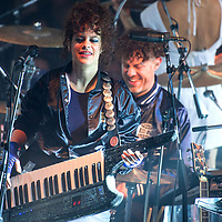 Arcade Fire in concert at The Corn Exchange Edinburgh, Great Britain 8th June 2017