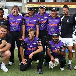 Durban South Africa -  December 15, General views of some Legends during Hollywood Bets Showdown At The Coast - Sunfoil Dolphins vs CellC Sharks Match at the Kingsmead.Sahara Stadium Kingsmead (Photo by Steve Haag)images for social media must have consent from Steve Haag