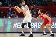 Filippo Baldi Rossi<br /> Nazionale Italiana Maschile Senior<br /> Eurobasket 2017 - Final Phase - 1/4 Finals<br /> Italia Serbia Italy Serbia<br /> FIP 2017<br /> Istanbul, 13/09/2017<br /> Foto M.Ceretti / Ciamillo - Castoria