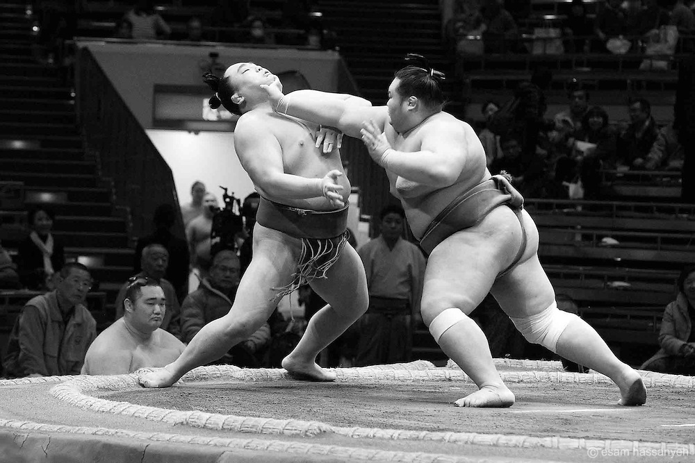 Ryogoku Kokugikan, Esam Hassanyeh, Sumo, Tokyo