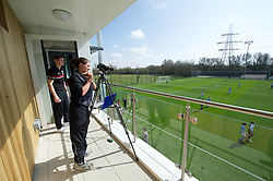 NEWPORT, WALES - Saturday, April 20, 2013: The opening of the FAW National Development Centre in Newport. (Pic by David Rawcliffe/Propaganda)