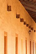 Corridor detail, Mission San Antonio de Padua (3rd Mission-1771), Jolon, California