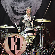 WASHINGTON, DC - December 10th, 2013 - The Hives, the world's greatest rock 'n roll band, perform at the 9:30 Club in Washington, D.C. (Photo by Kyle Gustafson / www.kylegustafson.com)