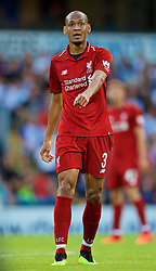 BLACKBURN, ENGLAND - Thursday, July 19, 2018: Liverpool's new signing Fabio Henrique Tavares 'Fabinho' during a preseason friendly match between Blackburn Rovers FC and Liverpool FC at Ewood Park. (Pic by David Rawcliffe/Propaganda)