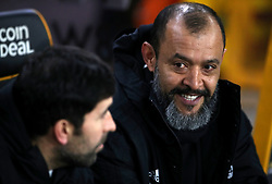 Wolverhampton Wanderers manager Nuno Espirito Santo during the Emirates FA Cup, third round match at Molineux, Wolverhampton.