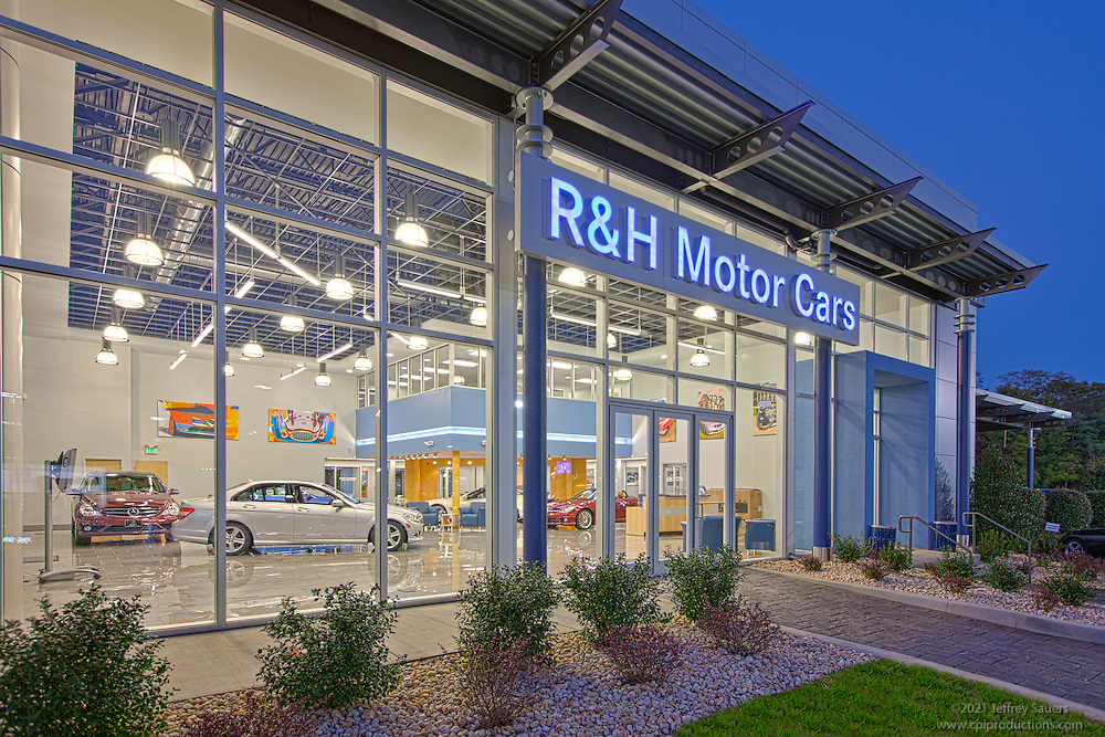 Mercedes Benz Of Owings Mills >> Architectural Image Of R And H Mercedes Benz Dealership
