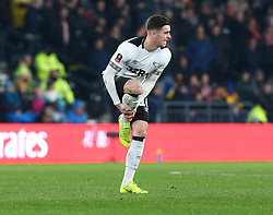January 5, 2019 - Derby, England, United Kingdom - Derby, England - 05 January, 2019.Derby County's Tom Lawrence.during FA Cup 3rd Round between Derby County  and Southampton at Pride Park stadium , Derby, England on 05 Jan 2019. (Credit Image: © Action Foto Sport/NurPhoto via ZUMA Press)