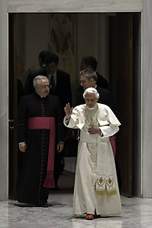 Pope Benedict XVI during His Wednesday General audience in Paul VI S Hall at The Vatican, December 19, 2012. Photo by Imago / i-Images...UK ONLY