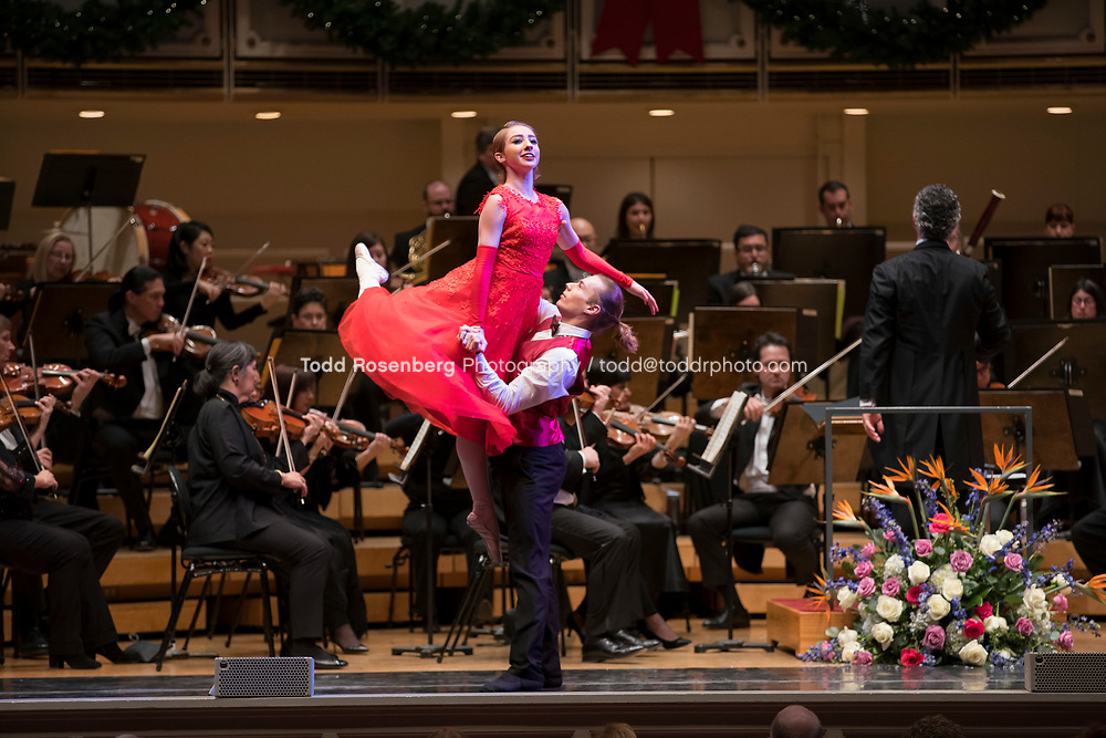 12/30/17 2:46:55 PM -- Chicago, IL, USA<br /> Attila Glatz Concert Productions' &quot;A Salute to Vienna&quot; at Orchestra Hall in Symphony Center. Featuring the Chicago Philharmonic <br /> <br /> &copy; Todd Rosenberg Photography 2017