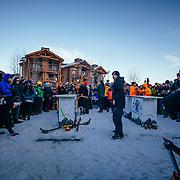 Team Quaffstafari sets up for the finals of the 2015 Gelande Quaff Championships.