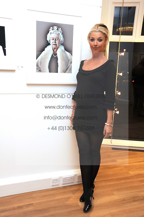 TAMARA BECKWITH at a private view of 'Most Wanted' an exhibition of photographs held at The Little Black Gallery, Park Walk, London on 27th November 2008.