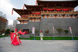 CHINA PUDONG DISTRICT SHANGHAI 23MAY10 - Xian case pavillion at the Expo 2010 in Shanghai, China...jre/Photo by Jiri Rezac..© Jiri Rezac 2010
