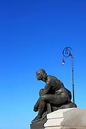 Antonio Maceo Monument on the Malecon in Havana, Cuba.
