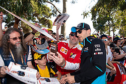 March 16, 2019 - Albert Park, VIC, U.S. - ALBERT PARK, VIC - MARCH 16: Williams Racing driver Robert Kubica arrives at The Australian Formula One Grand Prix on March 16, 2019, at The Melbourne Grand Prix Circuit in Albert Park, Australia. (Photo by Speed Media/Icon Sportswire) (Credit Image: © Steven Markham/Icon SMI via ZUMA Press)