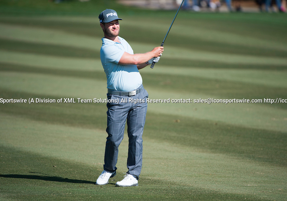 27 February 2016: David Lingmerth during the third round of the Honda Classic at the PGA National Resort & Spa in Palm Beach Gardens, FL.