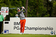 English golf professional Luke Donald  during the BMW PGA Championship Celebrity Pro-Am Day at the Wentworth Club, Virginia Water, United Kingdom on 25 May 2016. Photo by Simon Davies.