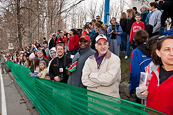 2013 Boston Marathon: spectators line course at start