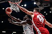 Abass Awudu<br /> A X Armani Exchange Olimpia Milano - Germani Basket Brescia<br /> Basket Serie A LBA 2019/2020<br /> MIlano 29 September 2019<br /> Foto Mattia Ozbot / Ciamillo-Castoria
