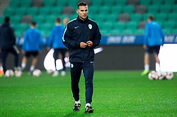 during practice session of Team Slovenia 1 day before UEFA Nations League match against Norway, on November 15, 2018 in SRC Stozice, Ljubljana, Slovenia. Photo by Vid Ponikvar / Sportida