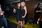 JULIA BOCCANERA; CHLOE MADDELEY, Sony BRAVIA World First - launch party. The Tramshed, 6-8 Garden Walk, Shoreditch London. 29 January 2009 *** Local Caption *** -DO NOT ARCHIVE-&copy; Copyright Photograph by Dafydd Jones. 248 Clapham Rd. London SW9 0PZ. Tel 0207 820 0771. www.dafjones.com.<br /> JULIA BOCCANERA; CHLOE MADDELEY, Sony BRAVIA World First - launch party. The Tramshed, 6-8 Garden Walk, Shoreditch London. 29 January 2009